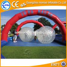 Bonne boule de zorb infligeant des ballons de zorb de fours amusants amusants à partir du fabricant de Guangzhou