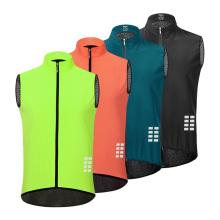 Jaqueta de Ciclismo Jersey Colete Vento Casaco