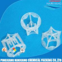 Anneau pentagonal en plastique