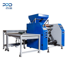 Automatic 4kw Electric Food Wrapping Cling Film Rewinding Machine