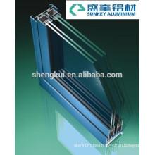 Powder Coating B80 Sliding Windows Aluminum Profiles Aluminum Extrusions