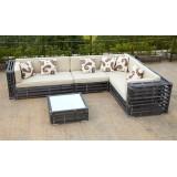 Modren Rattan Sofa Set Outdoor Furniture (CNS-1138)