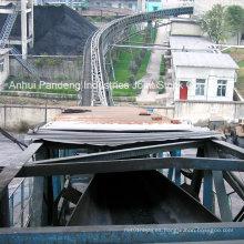 Transportador de correa estándar del tubo de mina de carbón de DIN / ASTM / Sha / Cema