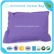 400г автомобиль бамбукового древесного угля мешок, мешок для воздуха Дезодоратор свежий активированный уголь мешок