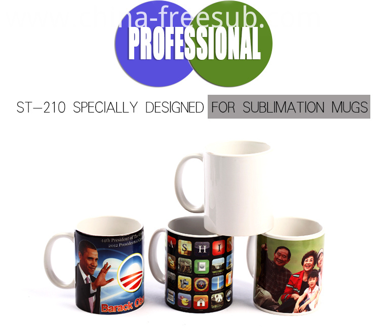Sublimation Novelty Coffee Mugs Heat Press Printing Machine