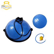 Bola de meio equilíbrio de ioga para instrutor de equilíbrio