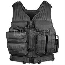 Police tactical vest gilet de combat militaire armée gilet ISO et SGS Standard