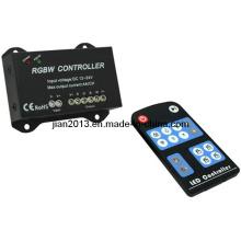 RGBW 4 canais DC 12-24V 16A LED RGB controlador