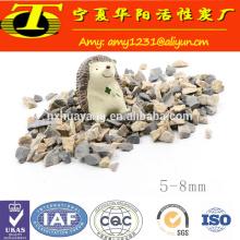 Polvo de bauxita calcinada china del grado de la industria del cemento