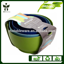 Öko-Fruchtglas biologisch abbaubare Fruchtbehälter Bambu