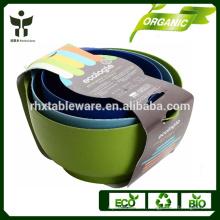 Eco fruit jar biodegradable fruit container bambu