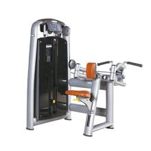 Máquina comercial da força do Gym da máquina da parte traseira da parte superior
