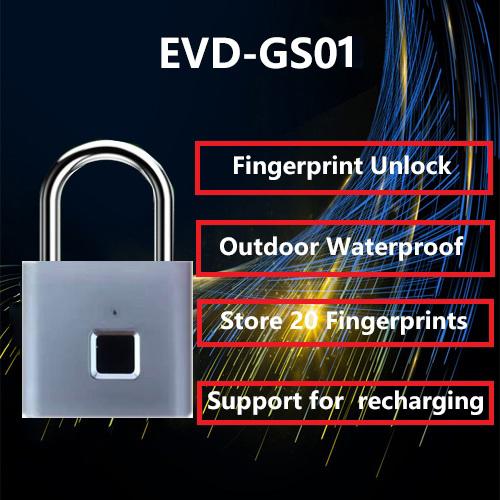 Convenient and Fast Fingerprint Padlock