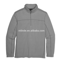 wholesale latest man fittness model pattern fashion design fancy brand name high quality custom made half zip-up winter jacket