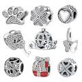 Горячие продажи 925 серебро европейских бисера ювелирные изделия для женщин