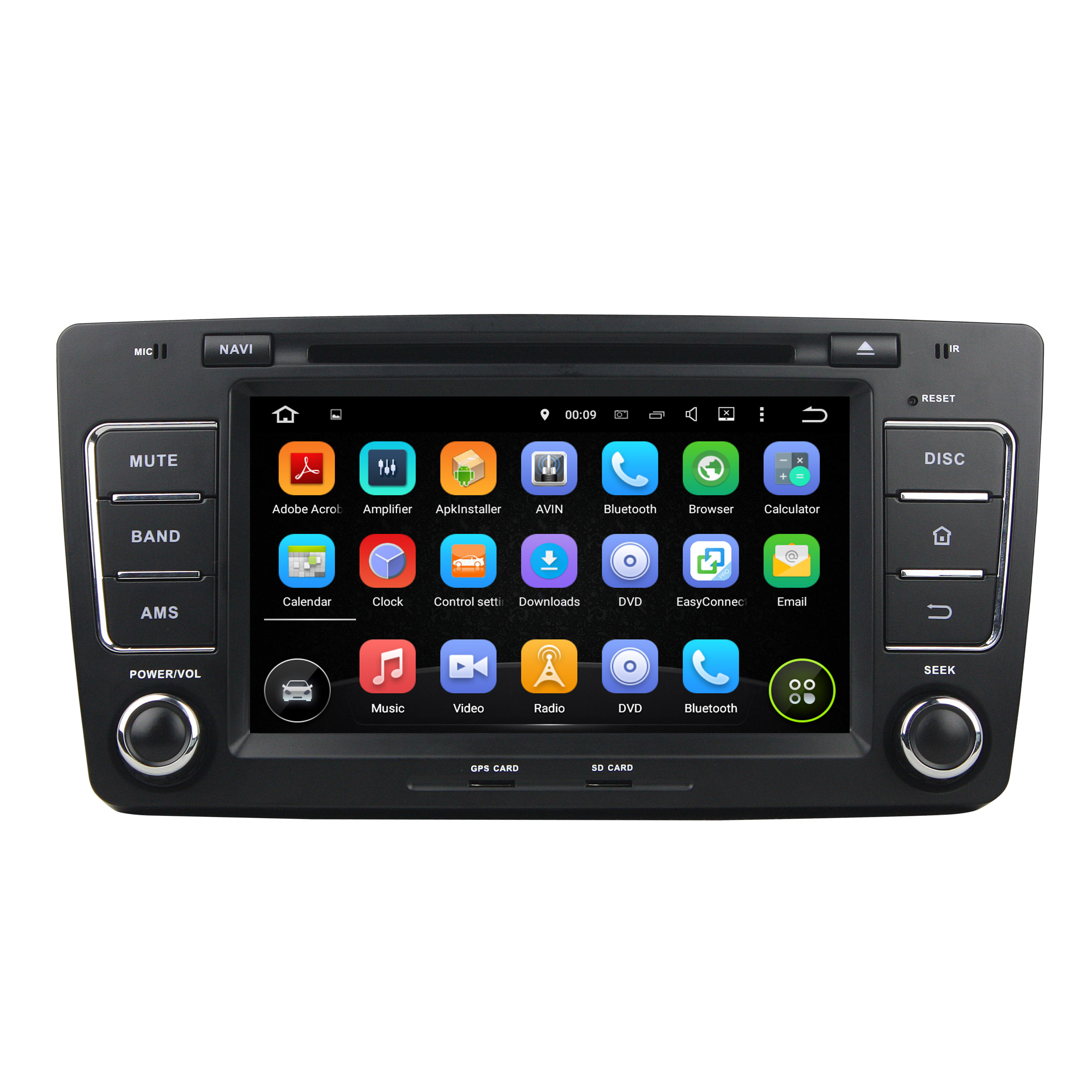 android car DVD for Skoda Octavia 2012