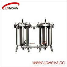 Filtre duplex d'acier inoxydable de Wenzhou Food Garde