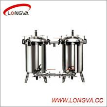 Wenzhou Food Garde Stainless Steel Duplex Filter