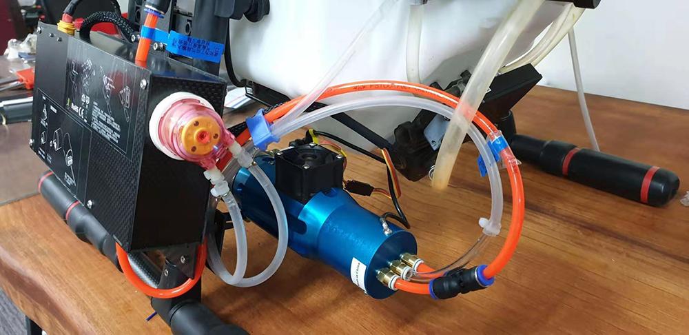 drone Smoke Sprayer System