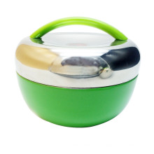 Nicety Metal Insulated Thermo Food Container/Kids Leakproof Bento Lunch Box