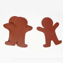 Gingerbread man crafting foam