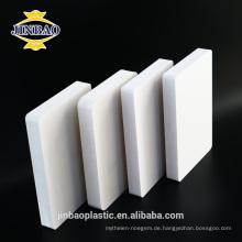 Jinbao 10mm 15mm laserdruck pvc schaum hochglanz pvc blatt
