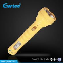 rechargeable led power Long-range flashlight torch