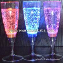 Завод Продажа LED подсветкой жидкого активных вина флейта