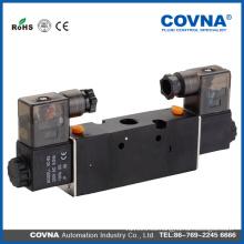 """4V210-08 Electroválvula / neumática / aire, gas / 12V, 24V DC o 110V, 220V AC / 1/4 """"NPT o PT"""