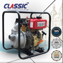 CLASSIC CHINA Strong Frame Manual Início AC Single Phase Pequeno 3 Inch Clean Diesel Bomba de água Recoil Start