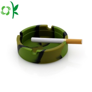 Fancy Cigarette Colorful Silicone Crazy Smoking Ashtray