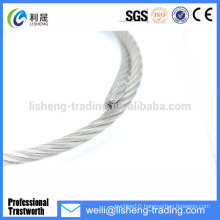 Hot sale galvanized 7*7 wire rope sling price