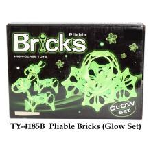 Pliable Bricks Spielzeug Glow Set