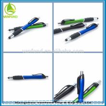 Mais popular caneta stylus para ipad, caneta de toque para mini de s3 samsung galáxia, 2-em-1 touch tela caneta esferográfica para PC