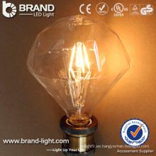 Profesional Fabricante Alta calidad 110V E14 LED Bombilla Filamento Bombilla