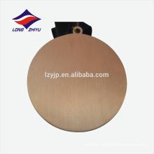 Medalla de recuerdo de aleación de zinc a medida de oro antiguo