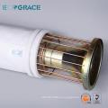 ECOGRACE Silicon Industrial PPS bolsa de filtro de polvo bolsa de jaula