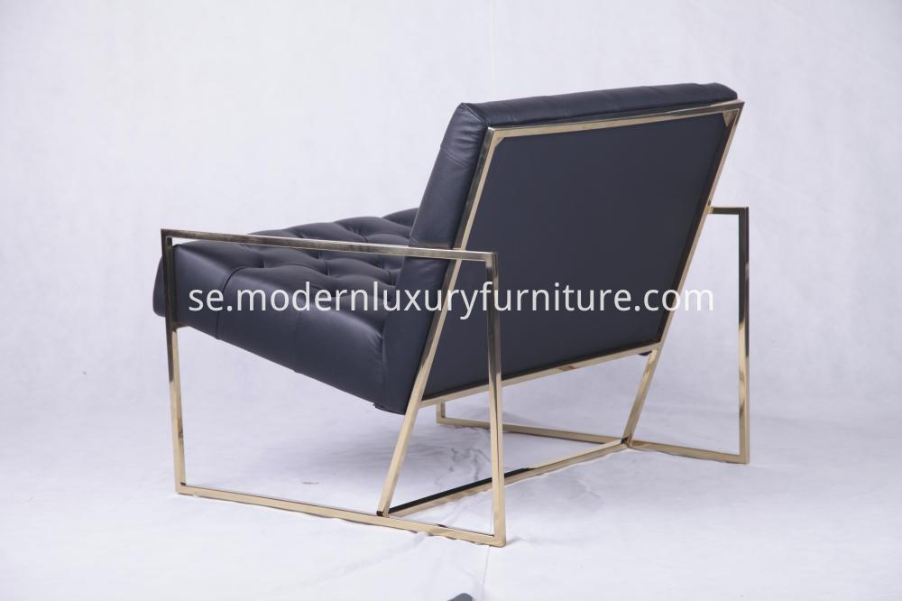 Thin Frame Lounge Chair 6