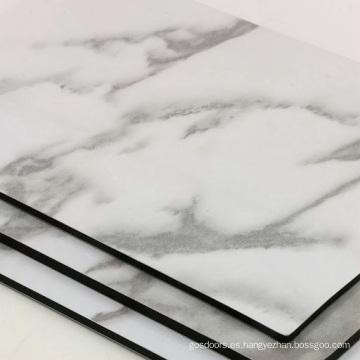 Nuevo producto de panel compuesto de aluminio de mármol