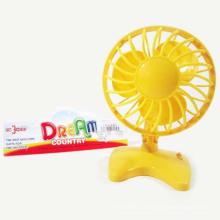 Venda quente B / O Toy Mini Fan Tabela Fan 14cm Elétrica para Crianças (10187883)