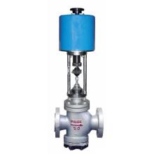 Válvula de controle de assento duplo acionada elétrica (GZDLN)