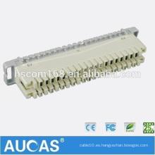 Bloque de terminales Krone de alta calidad / montaje de la parte posterior de la corona / cableado del cable telefónico