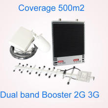 Dual Band Repeater GSM 900 /2100MHz 3G Cell Phone Signal Booster 900MHz 2100MHz Mobile Phone with Adjustment Gain