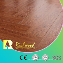 12.3mm E0 AC4 Teak Vinyl Plank Laminated Wood Laminate Flooring