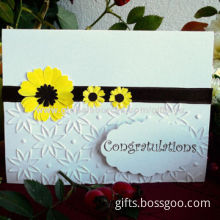 Hot sell standard greeting cards, OEM orders are welcome