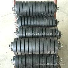 Стандарт ASTM/Сема/Дин/Ша Стандартный резиновый ролик/ролик удара/трения ролика транспортера