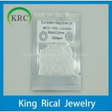 Cubic zirconia stones wholesale white round 1.5mm to 5mm diamond cut cz jewelry,cz stone