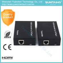 1080P sobre Cat5e / CAT6 (TCP / IP) 1.4V HDMI Extender