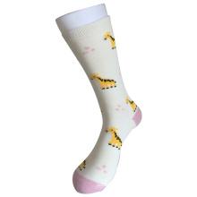 Half Cushion Cotton Fashion Logo Sport Giraffe Socks (JMCC05)