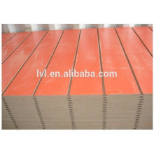 Highest quality Slotted MDF board for supermarket
